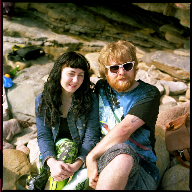 Stephen McLeod and Robyn Ramsay in Crail