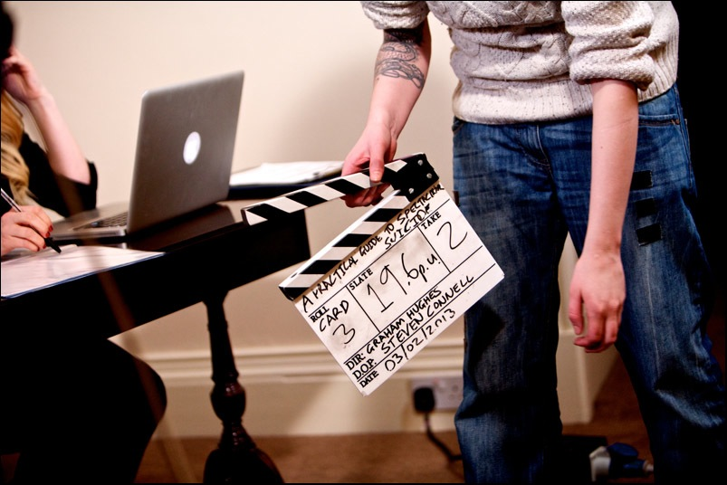 A practical guide to a spectacular suicide - filming in Stirling 2013 (13)
