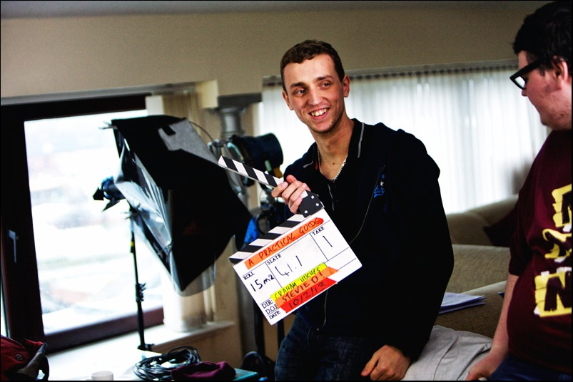 Filming of a Practical Guide to a Spectacular Suicide (13)