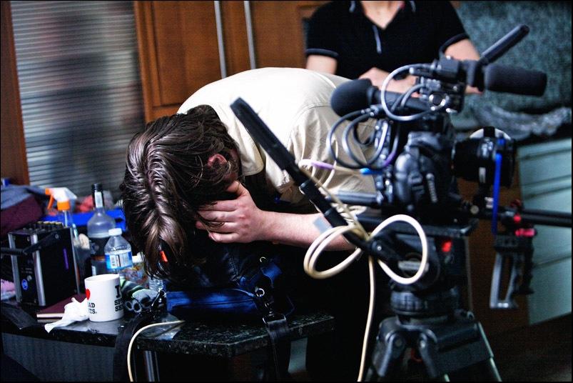 Filming of a Practical Guide to a Spectacular Suicide (11)