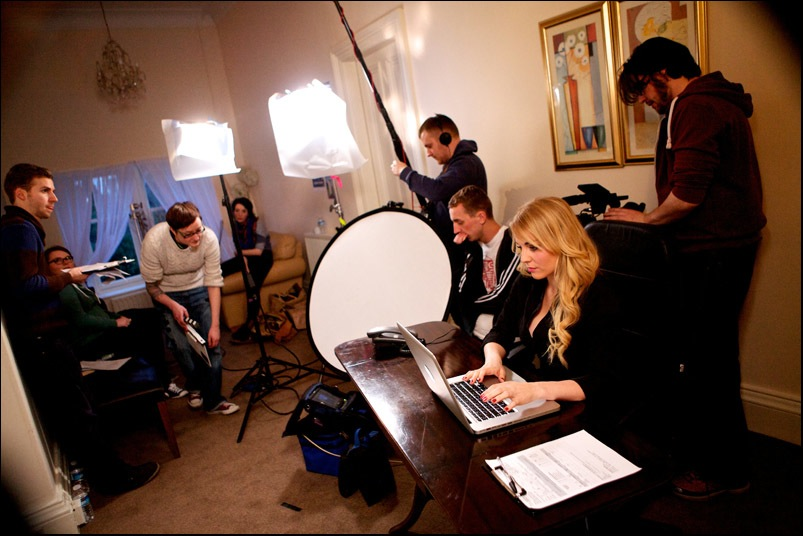 A practical guide to a spectacular suicide - filming in Stirling 2013 (3)