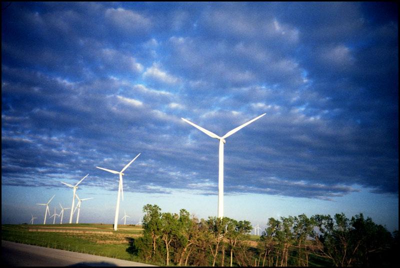 Windfarms in Kansas