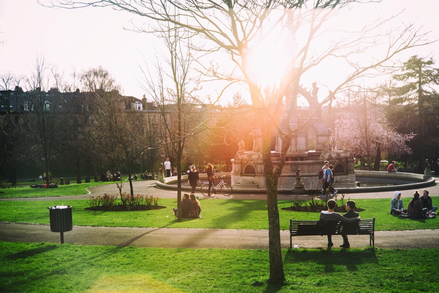 Sunny Day Glasgow