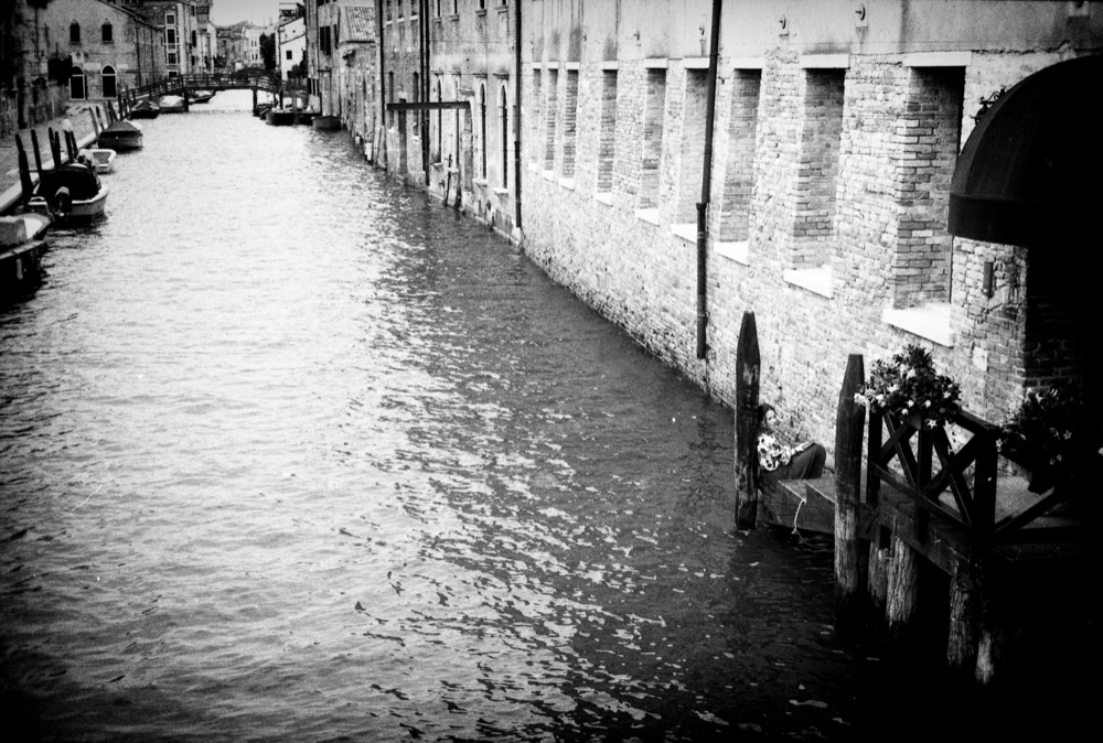 Venice, Italy - black and white