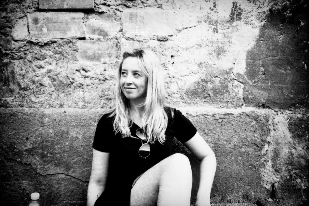 Blonde girl Italy 35mm