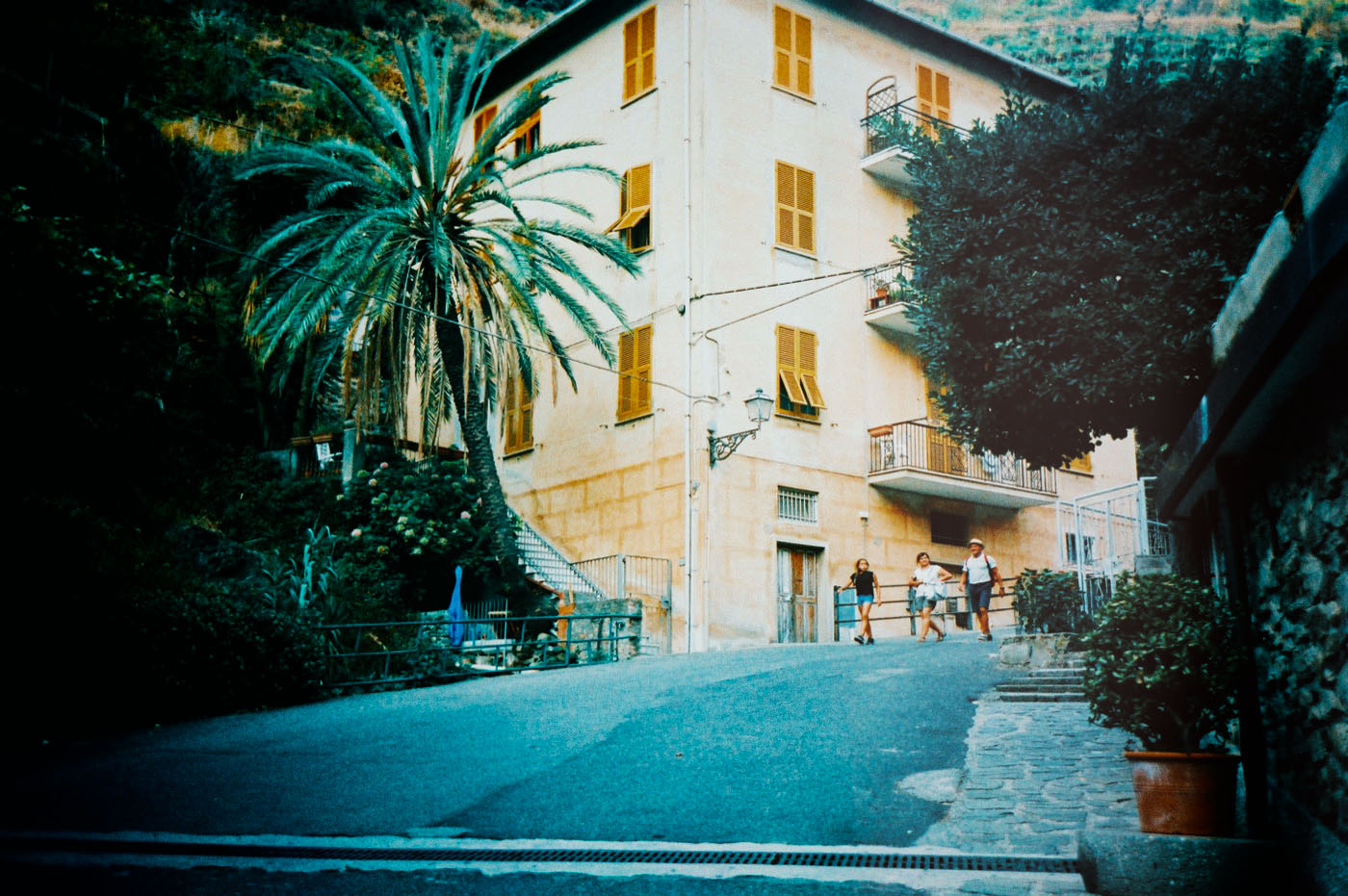 Manarola, Cinque Terre Italy - 35mm film