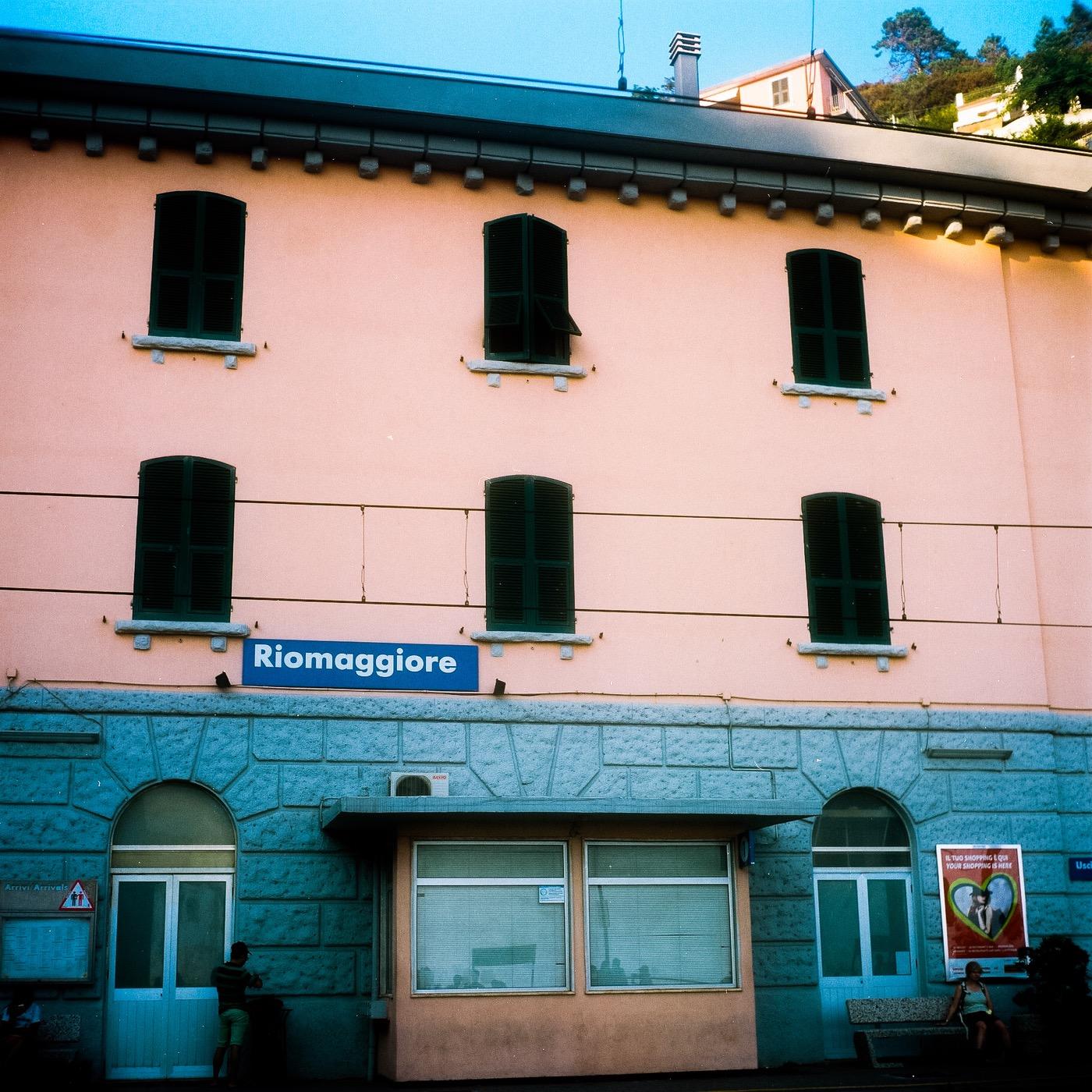 Riomaggiore train station