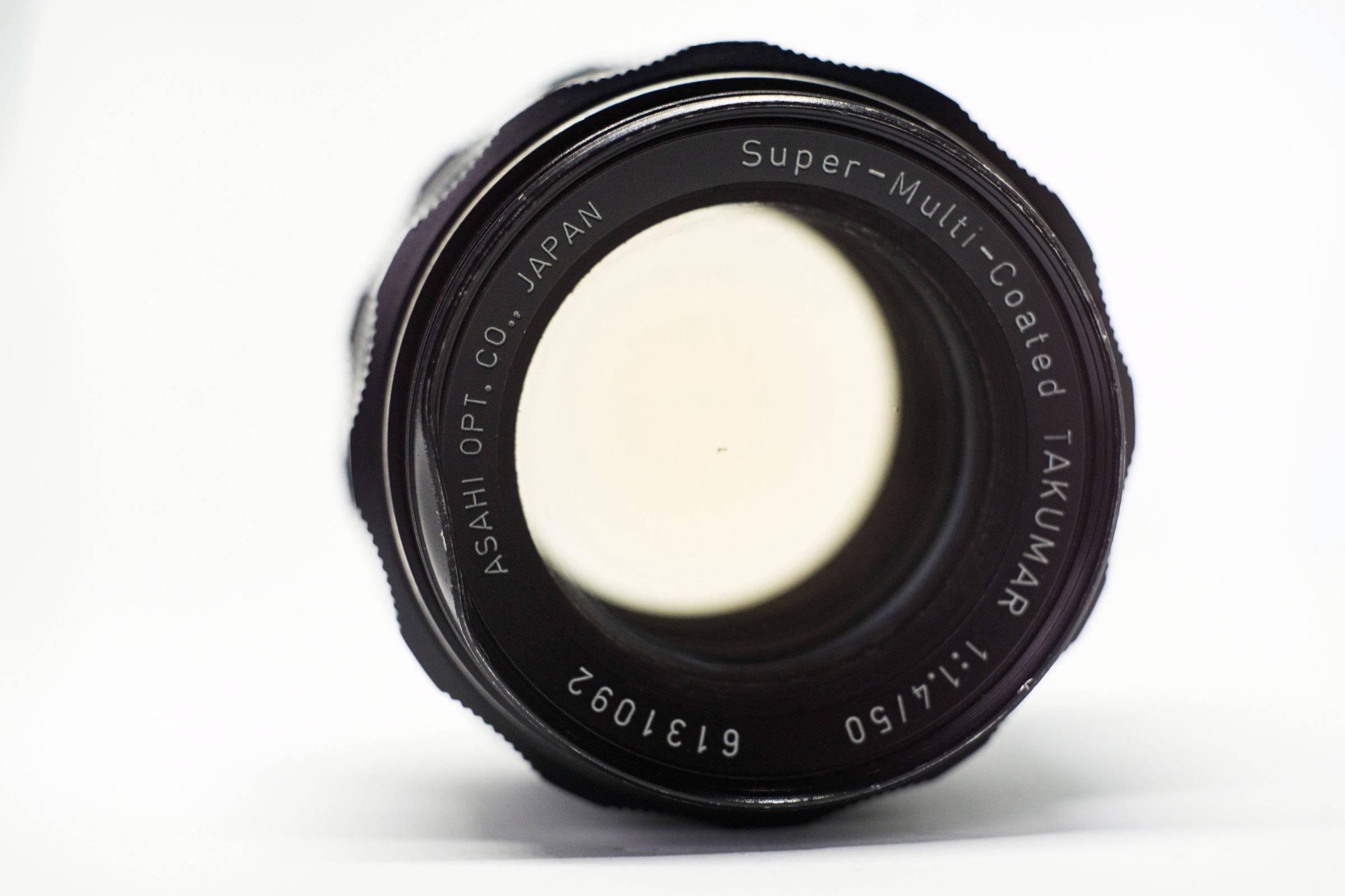 Super Multi Coated Takumar 50mm f1.4