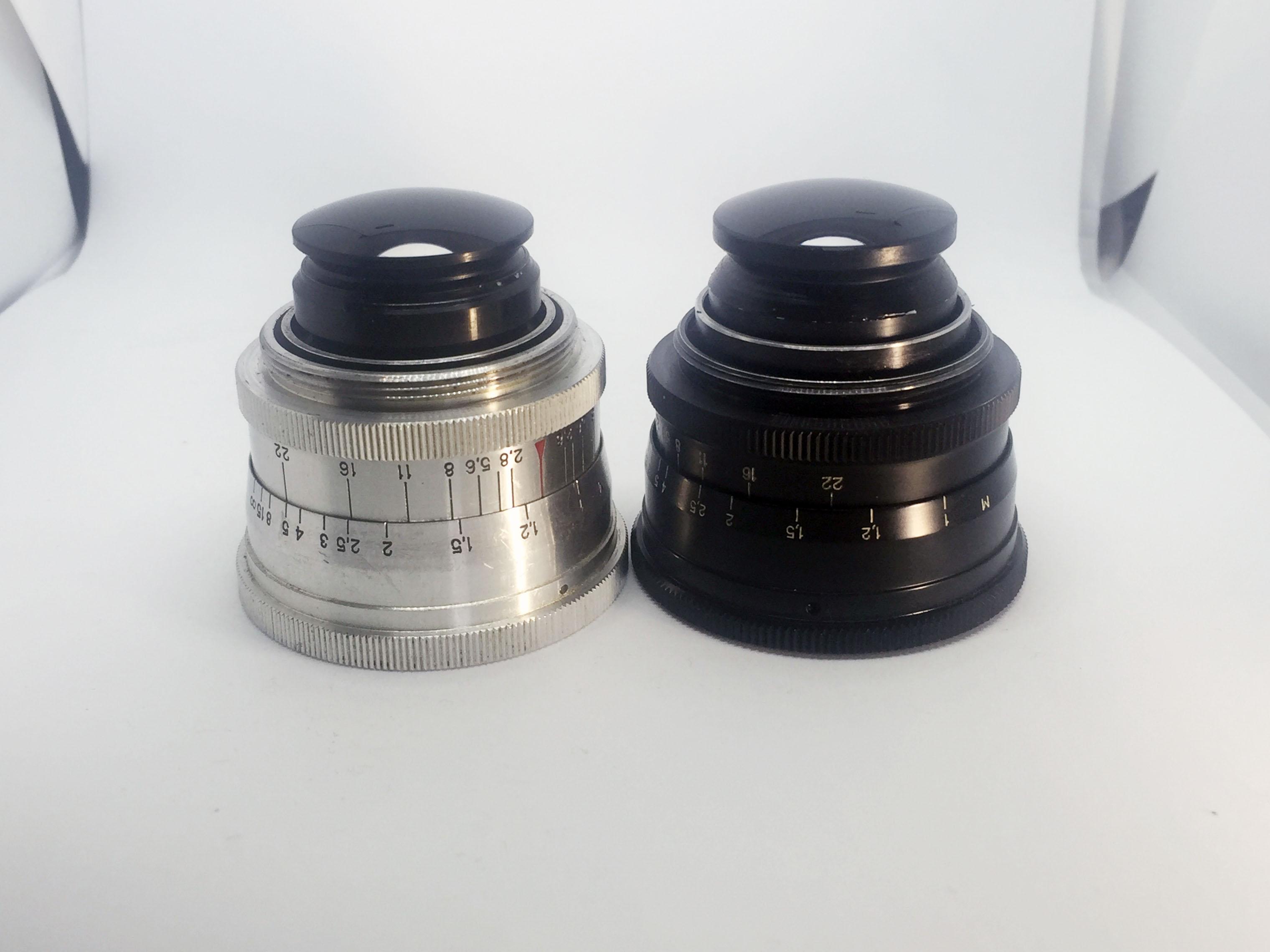 Jupiter 12 35mm f2.8 lenses