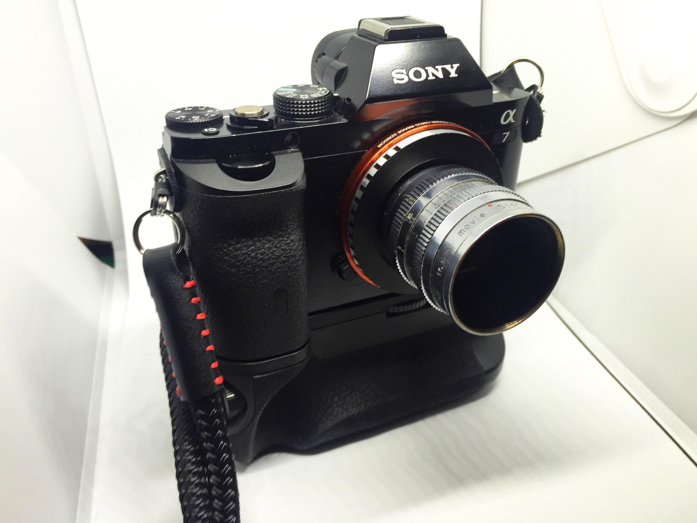 Elitar Soligor 25mm f0.95 - Sony A7