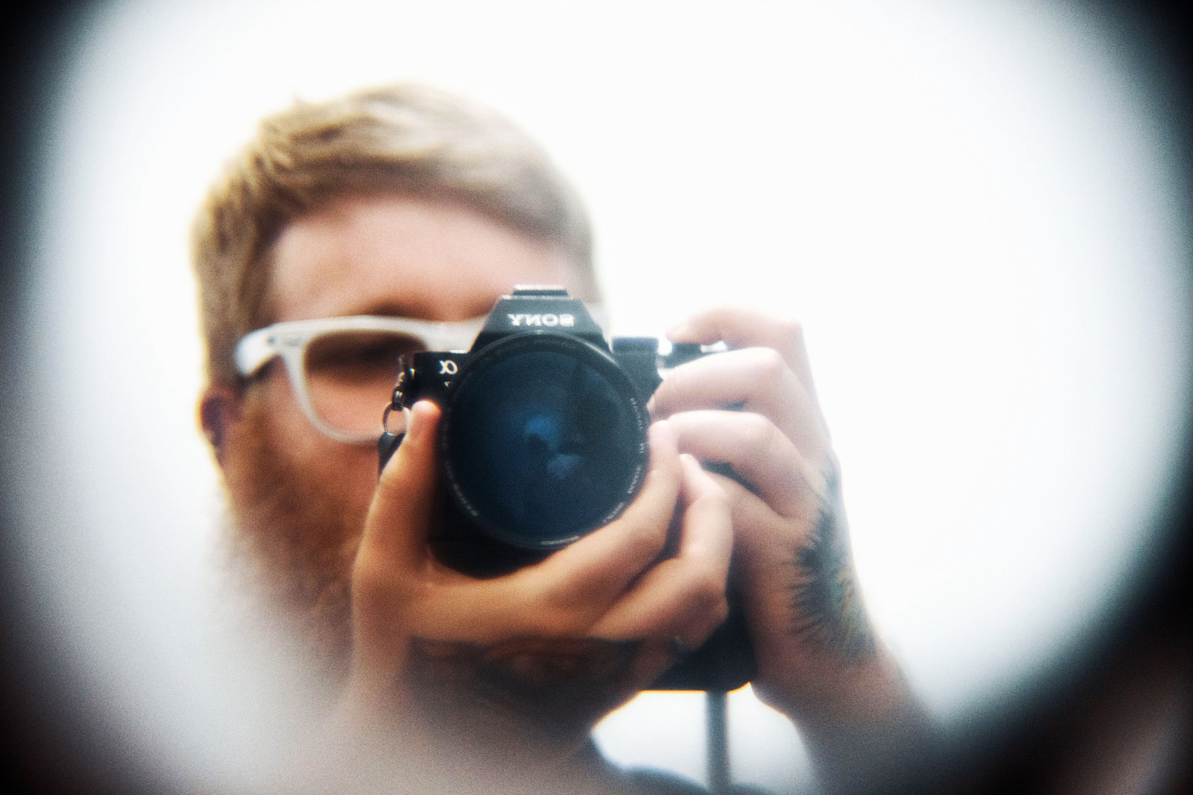 50mm f0.75 selfie