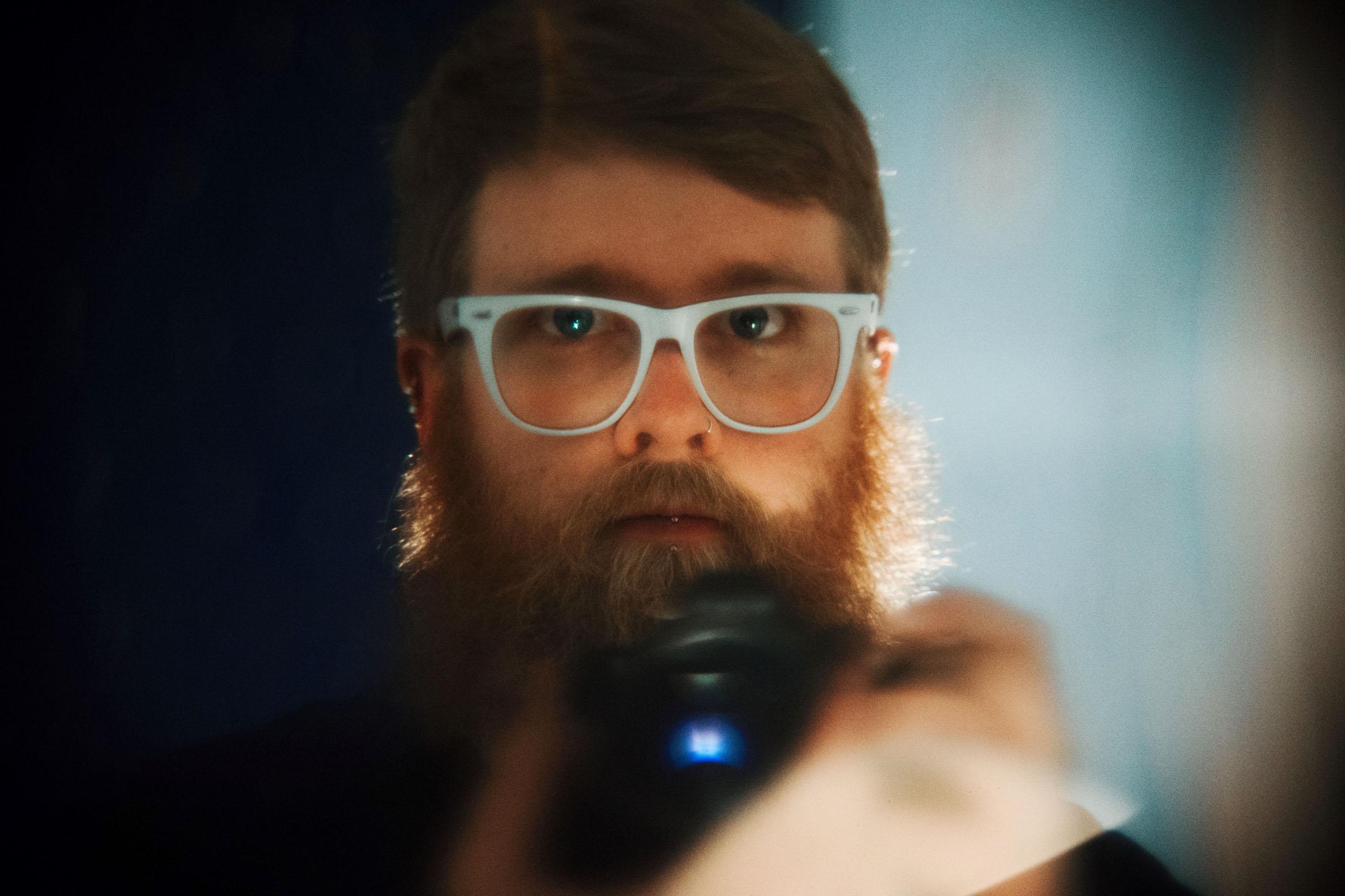 Canon 50mm f0.75 self portrait