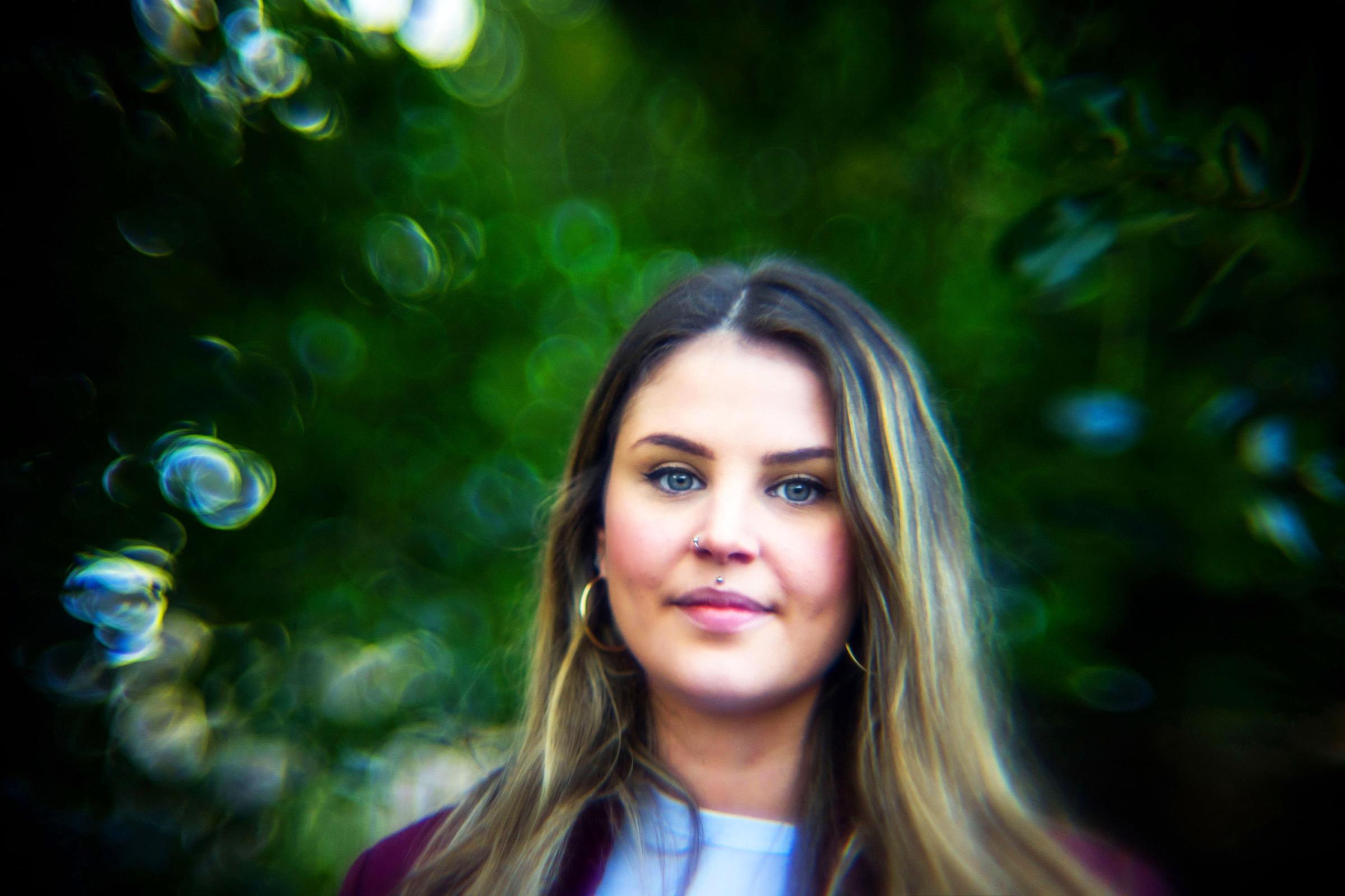 Canon 50mm f0.75 XI lens portrait