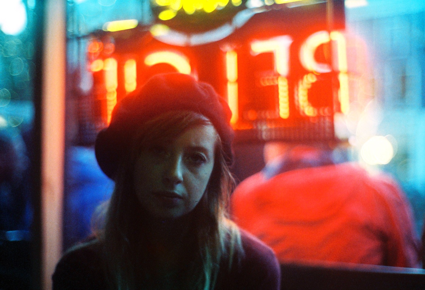 CineStill 800T portrait