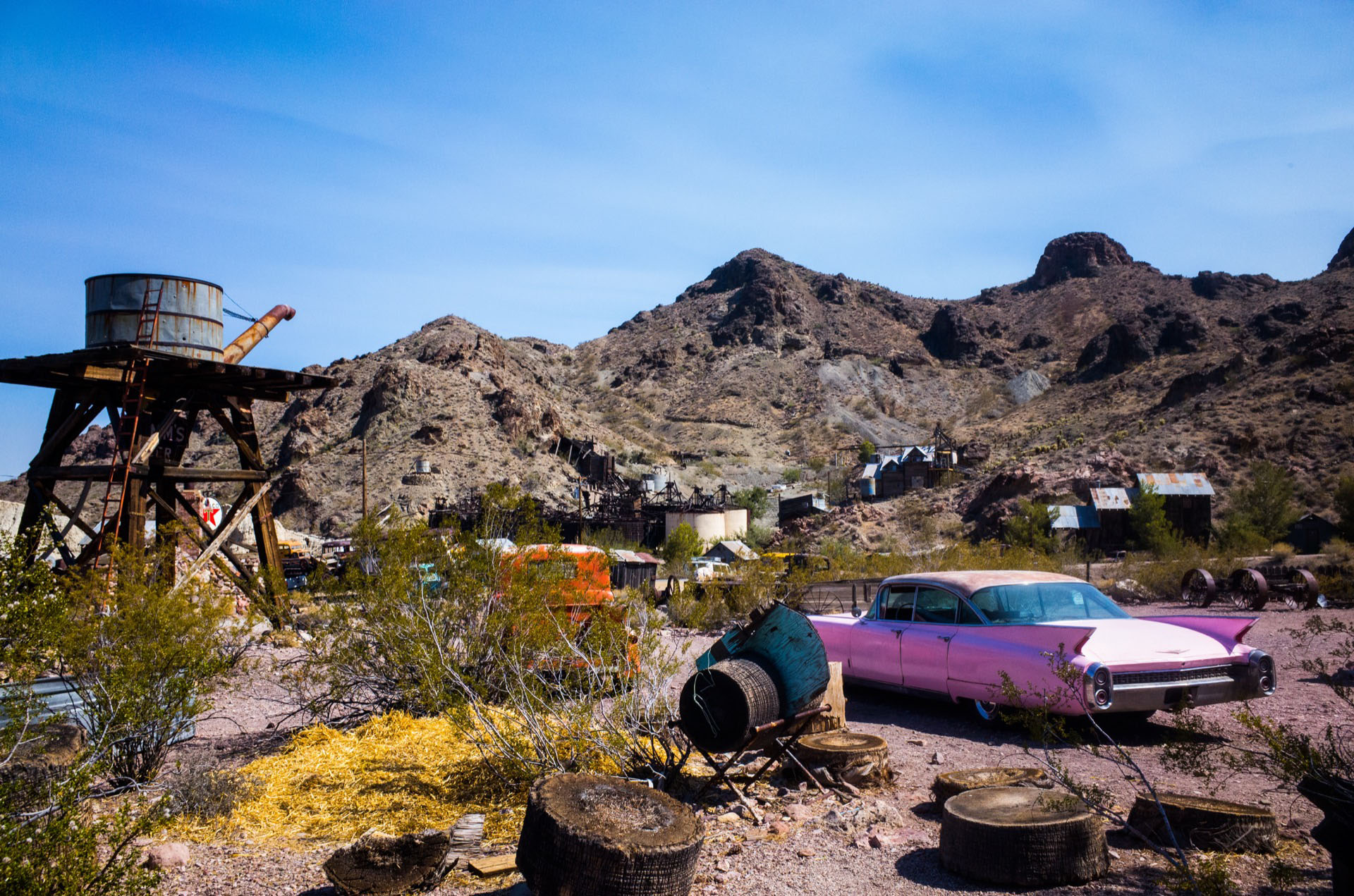 Nelson Ghost Town, Nevada