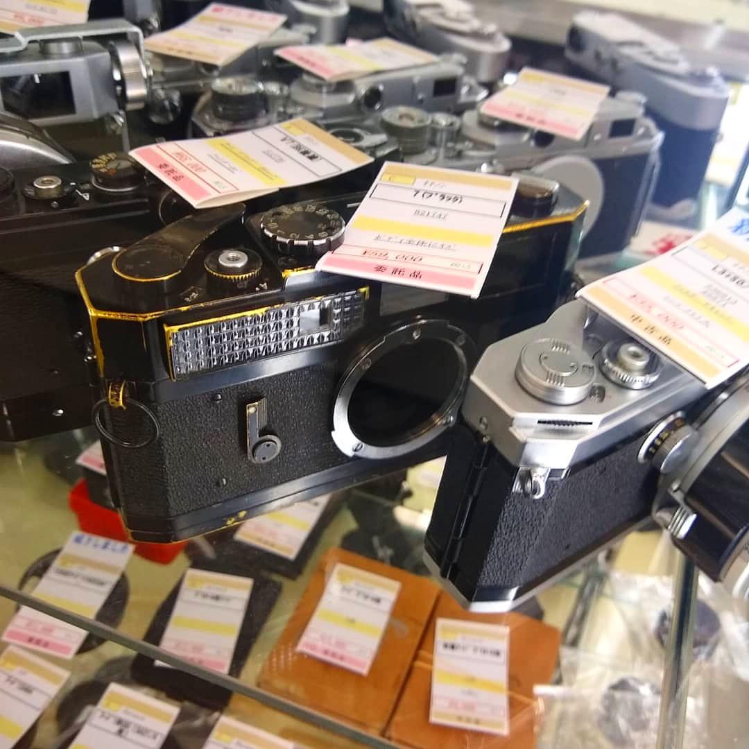 Canon 7 Black Paint Japan