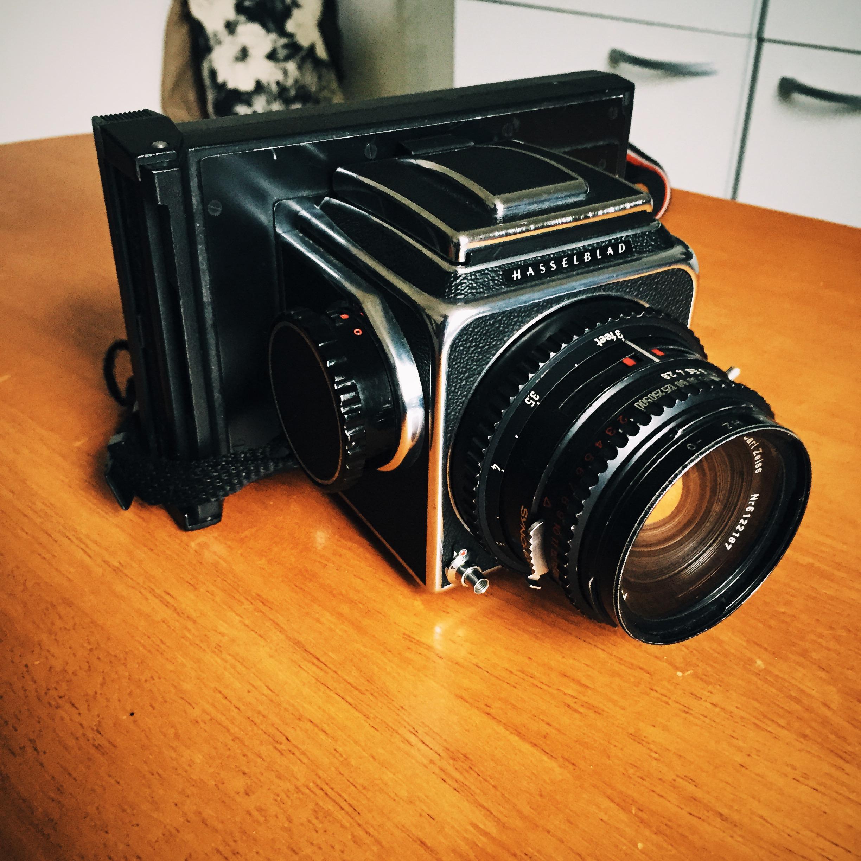 Hasselblad Polaroid back