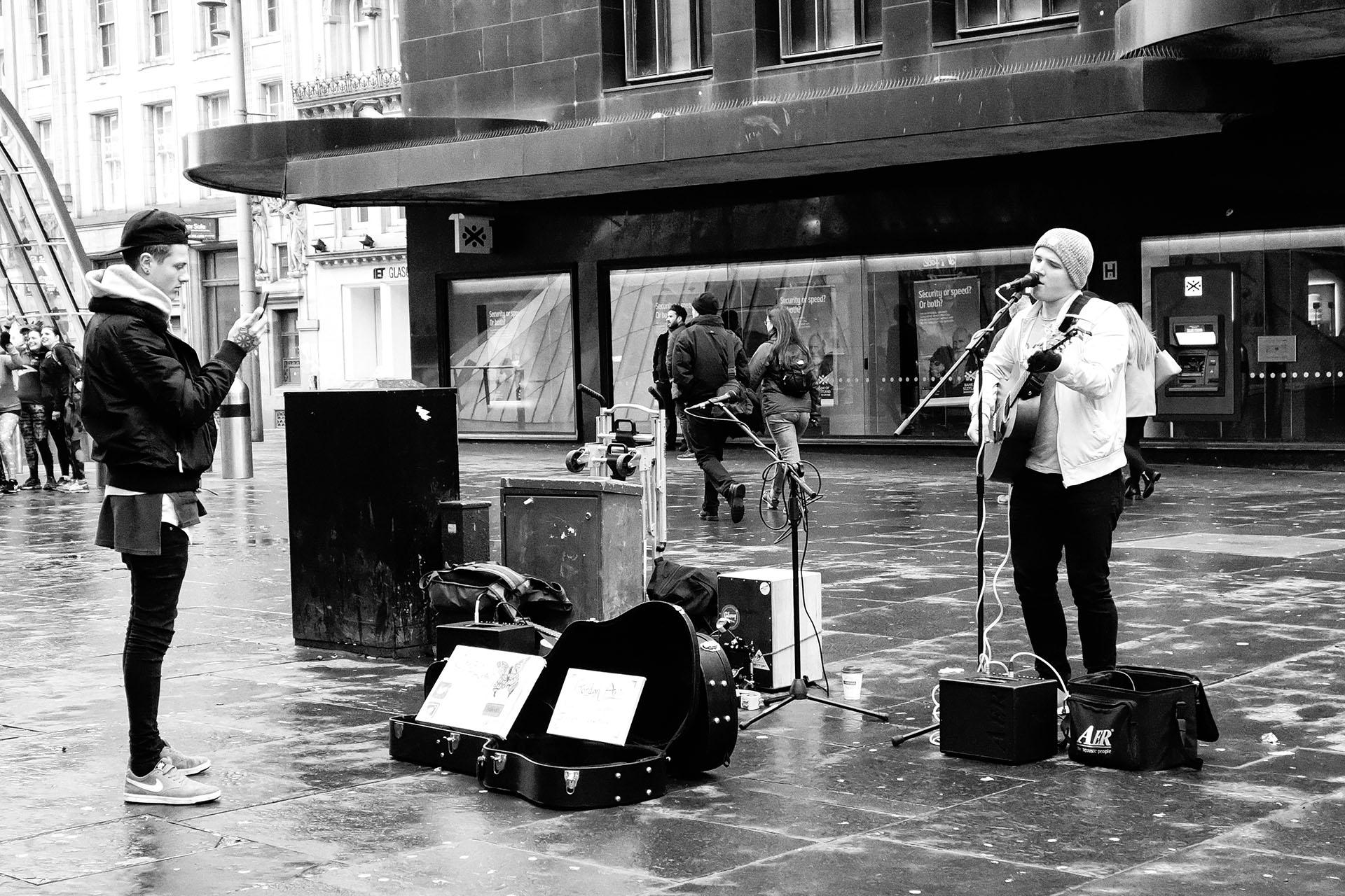 Glasgow Street Photos