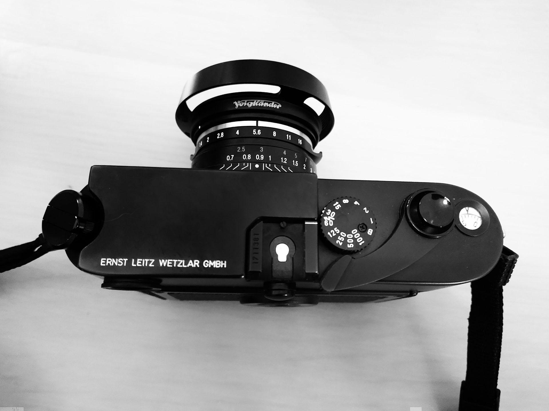 Leica M6 MP lever