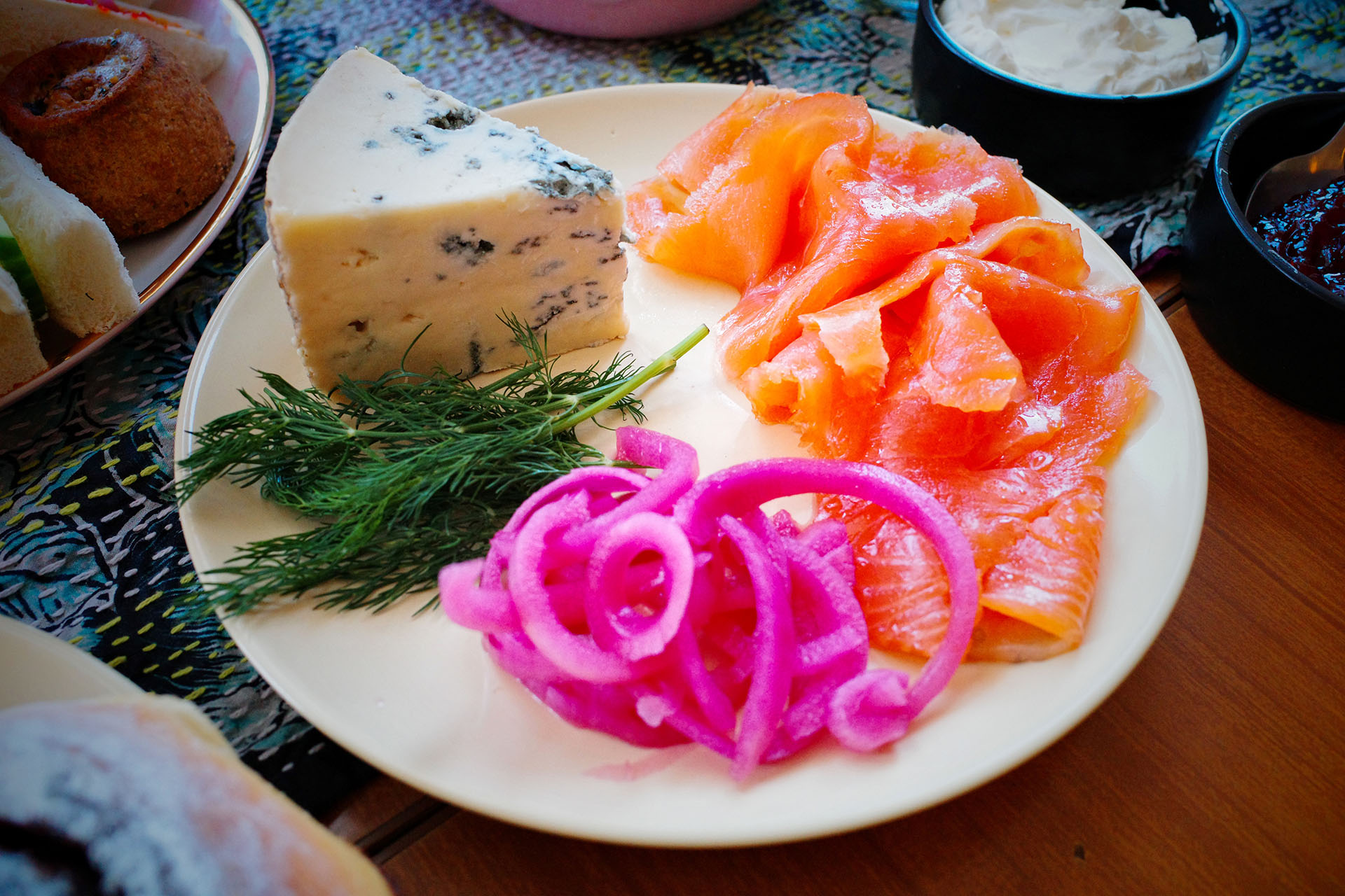 Blue cheese Salmon