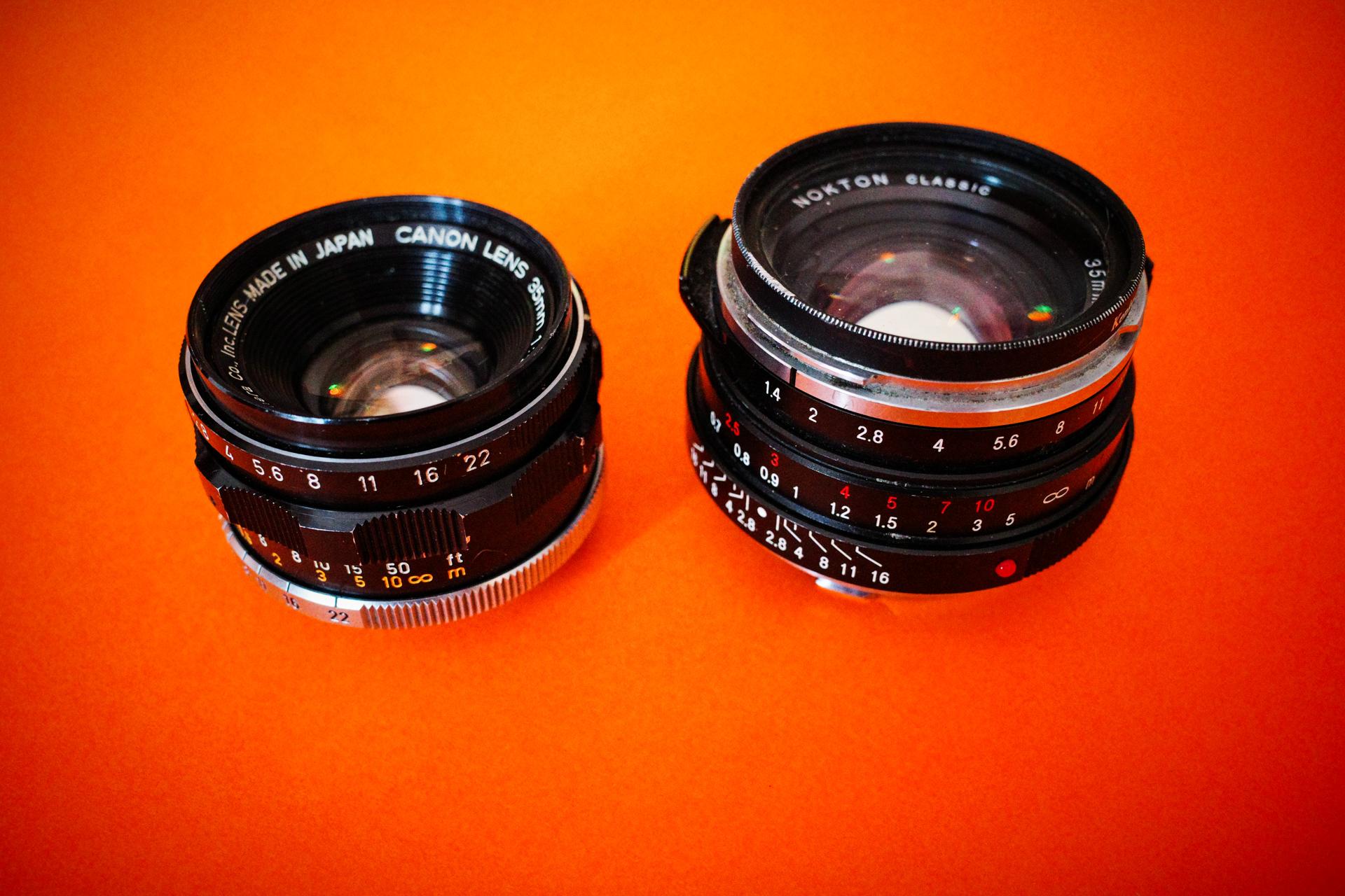 LTM 35mm comparison