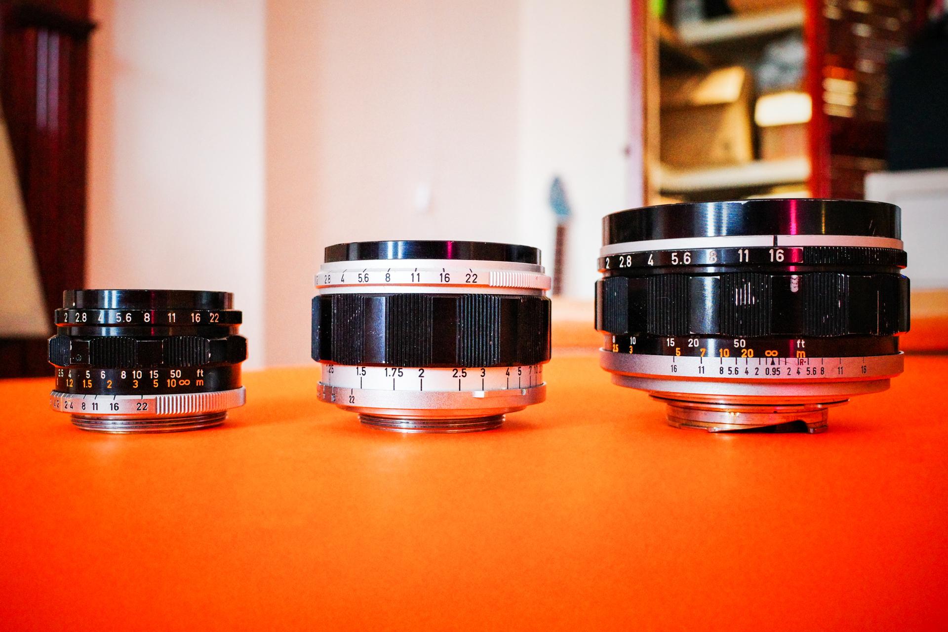 Canon LTM Lens collection