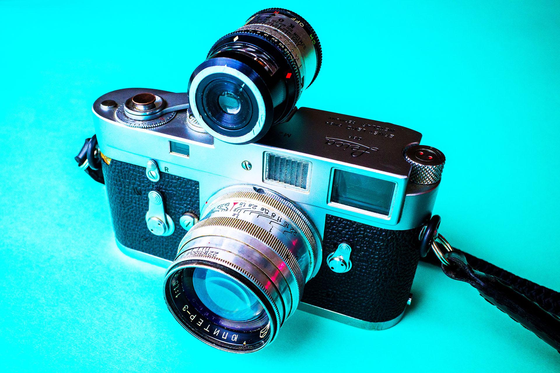 Leica M2 and Kopil Light Meter