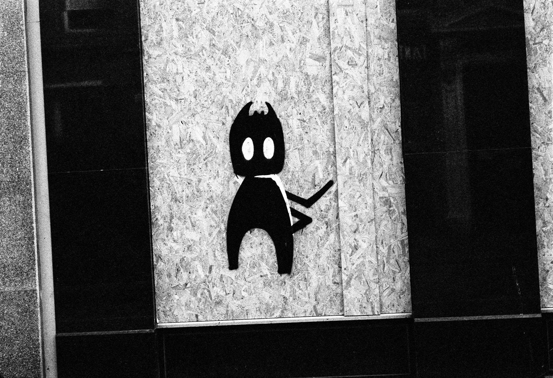 Glasgow street art 35mm