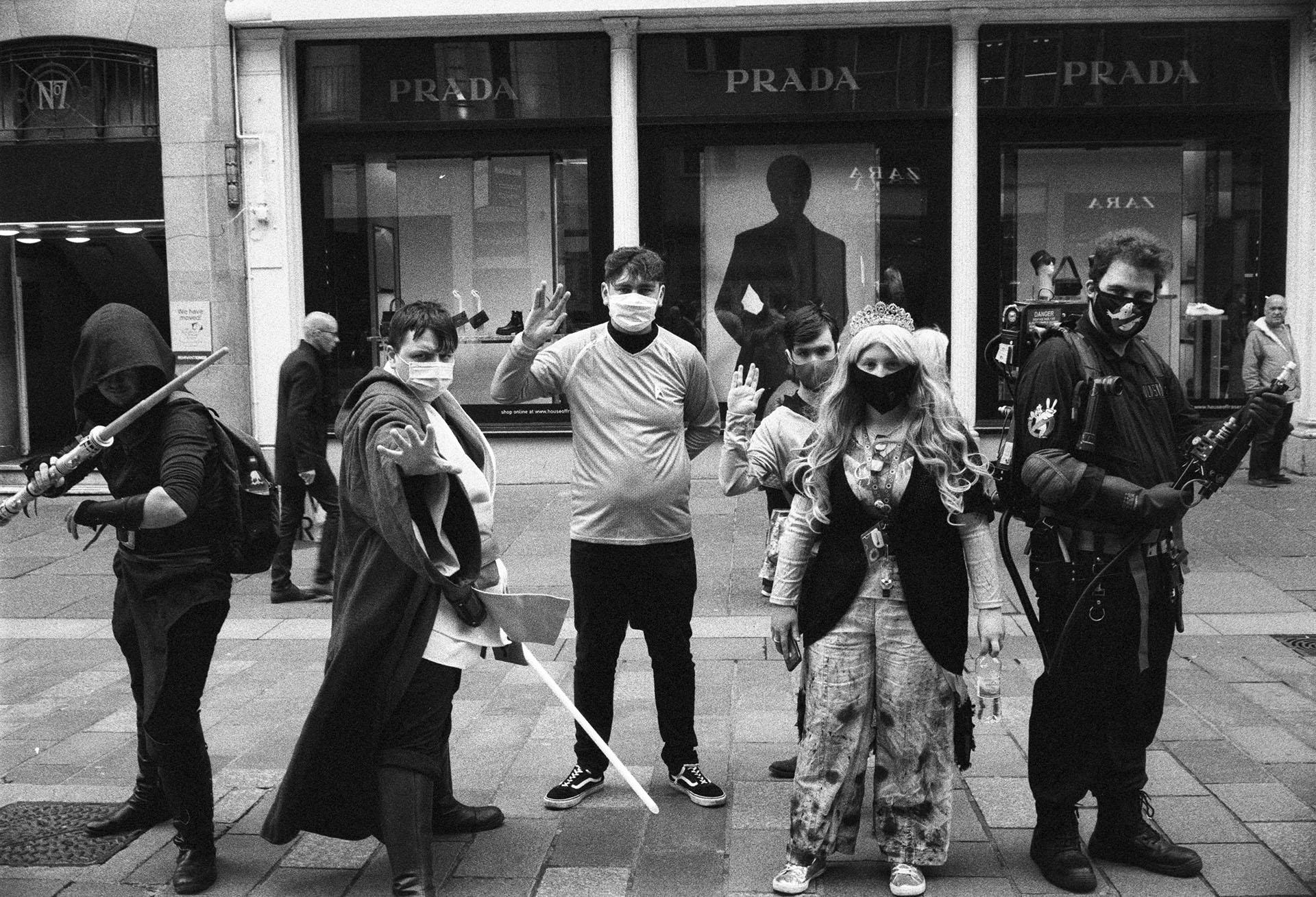 Glasgow street portrait