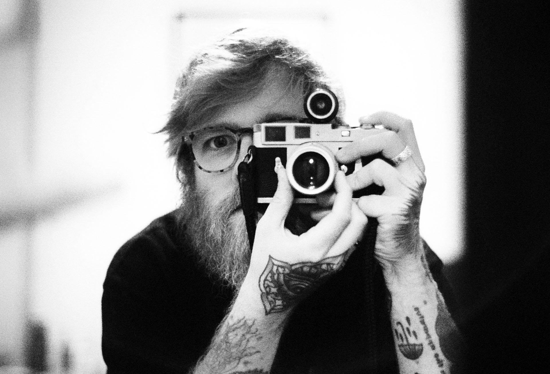 Glasgow 35mm self portrait