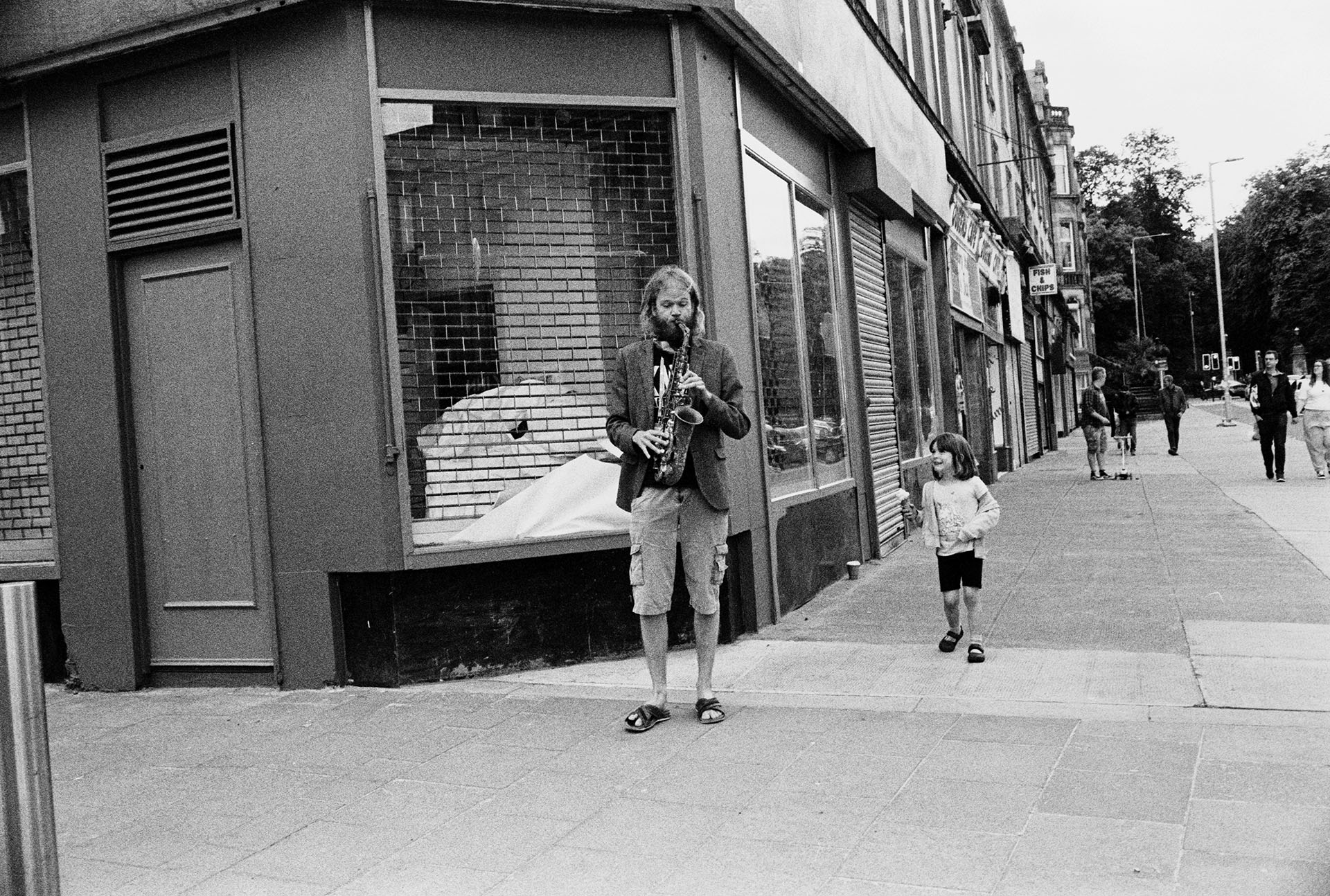 Glasgow street music festival