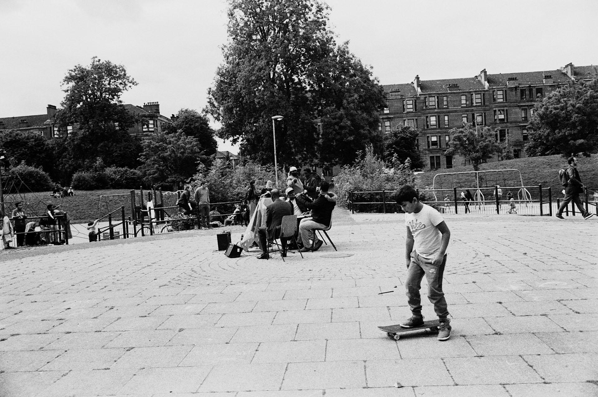 Glasgow 35mm street