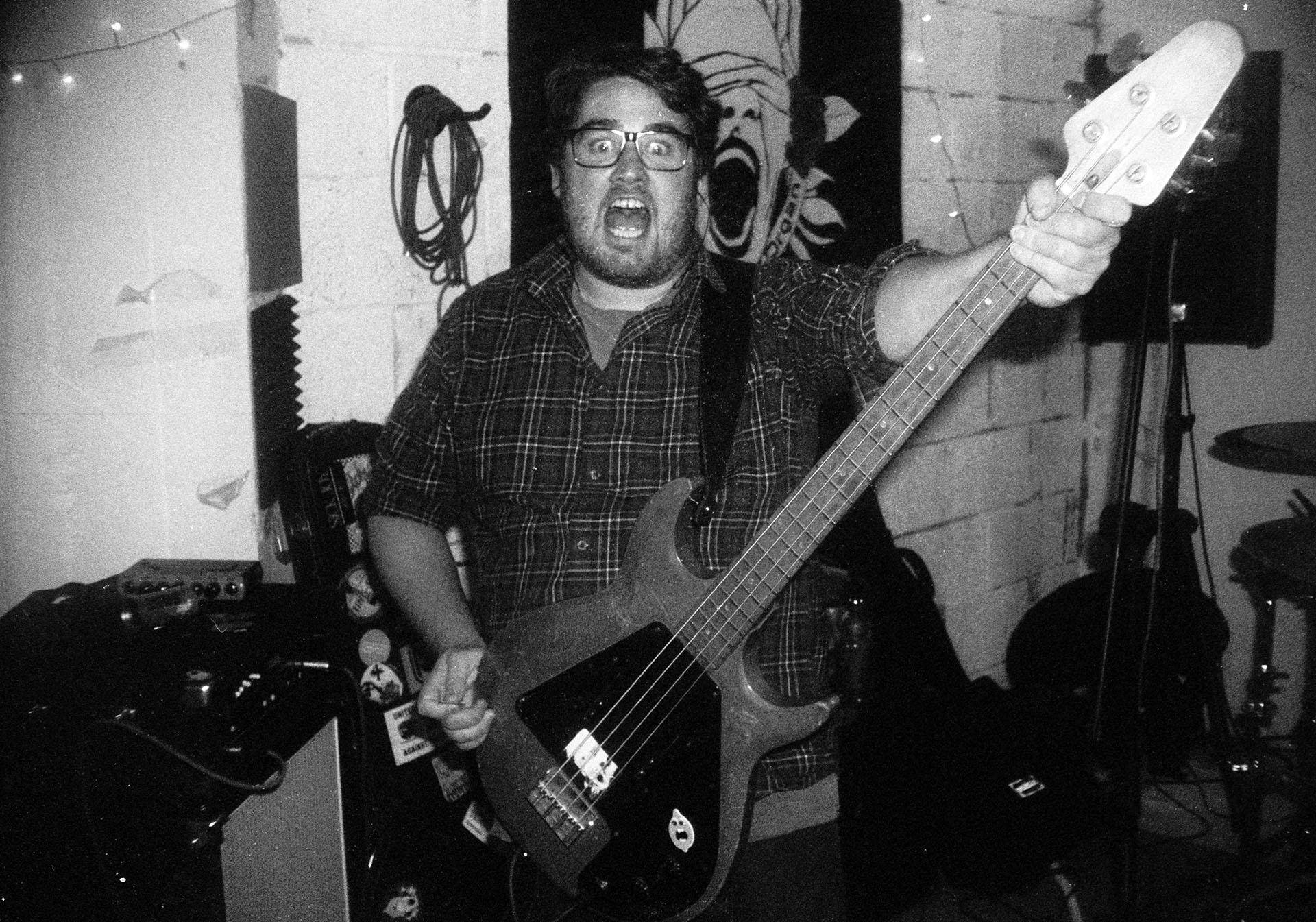 Closet Organ bassist