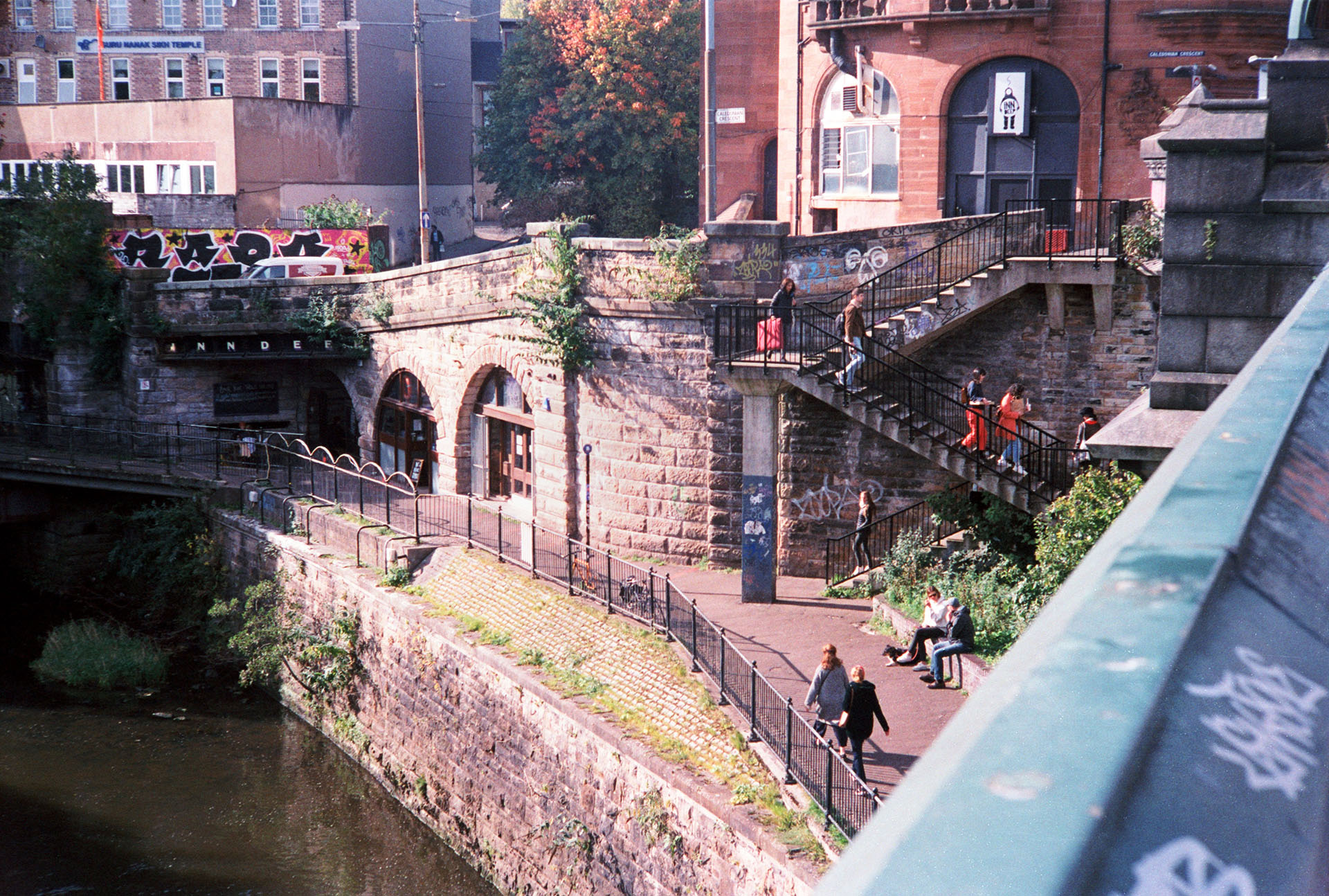 Glasgow colour 35mm street photography