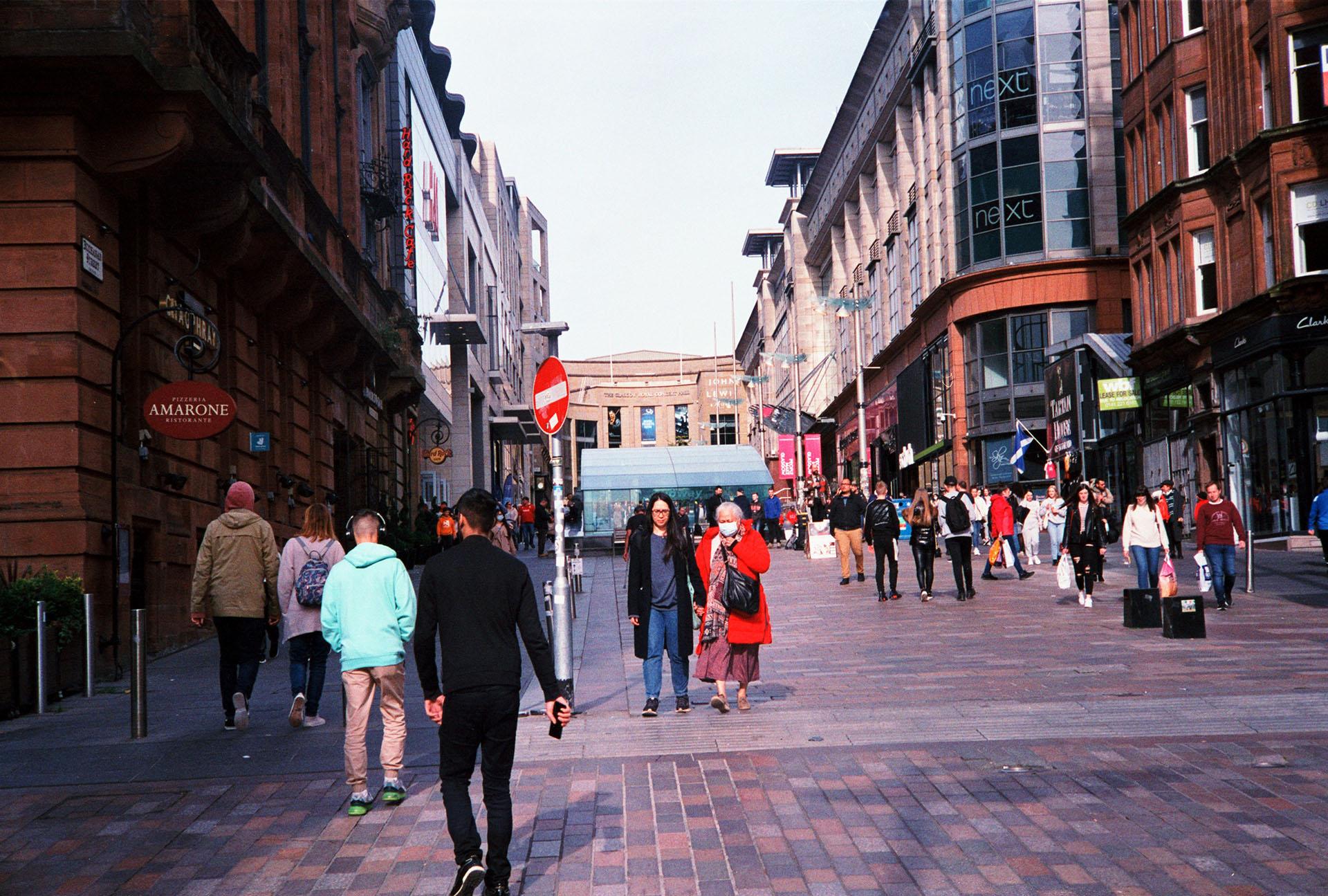 Glasgow street colour