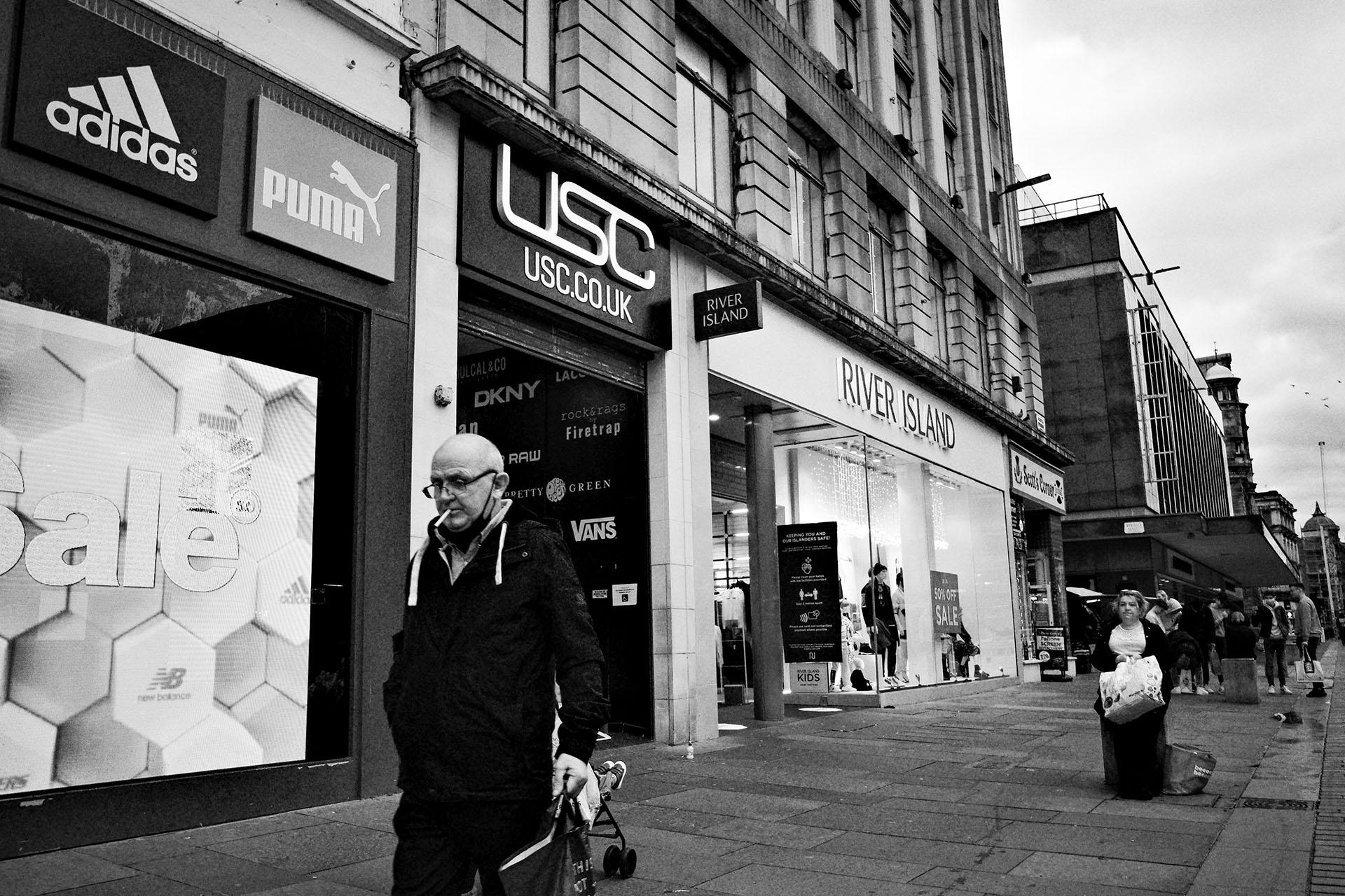 Glasgow street photograph