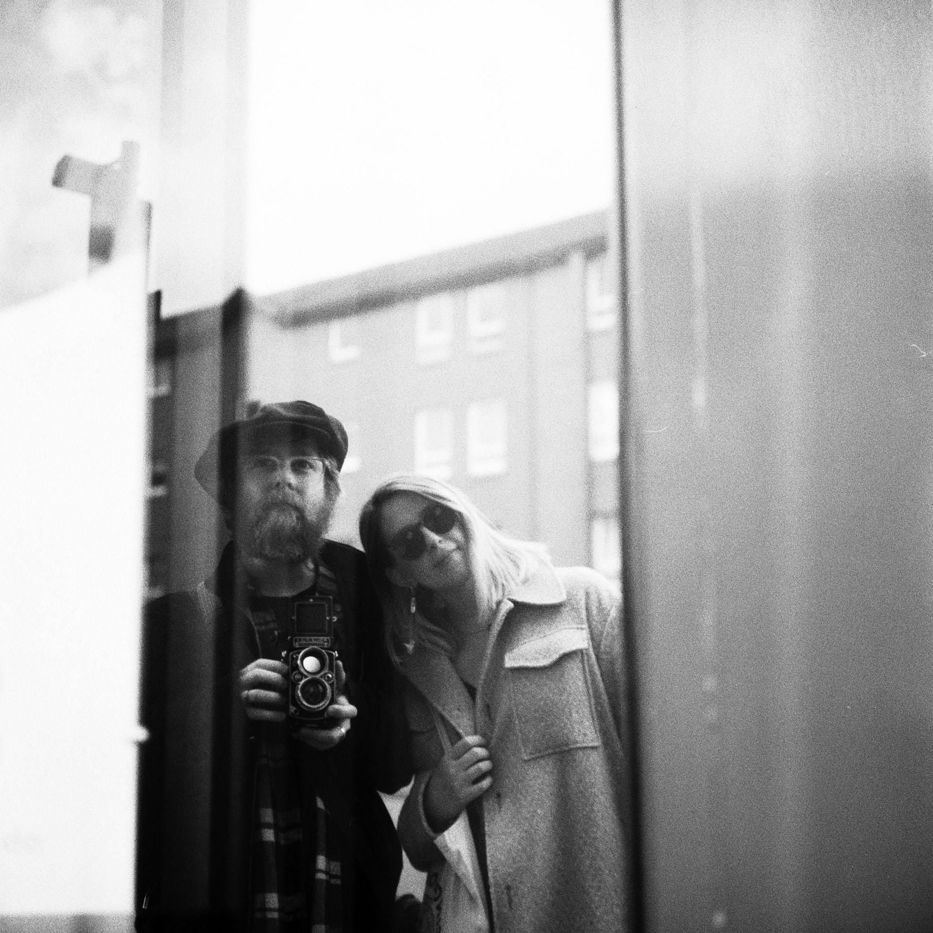 Rolleiflex self portrait