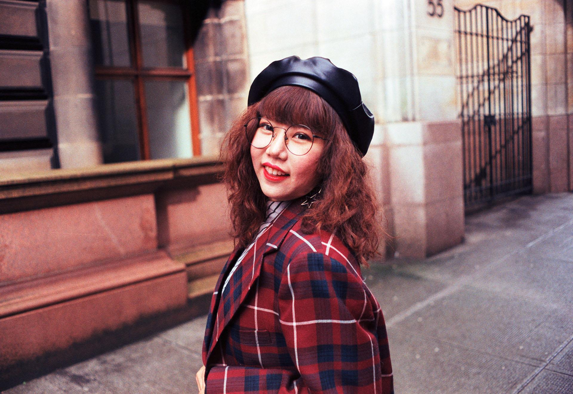 35mm film portrait