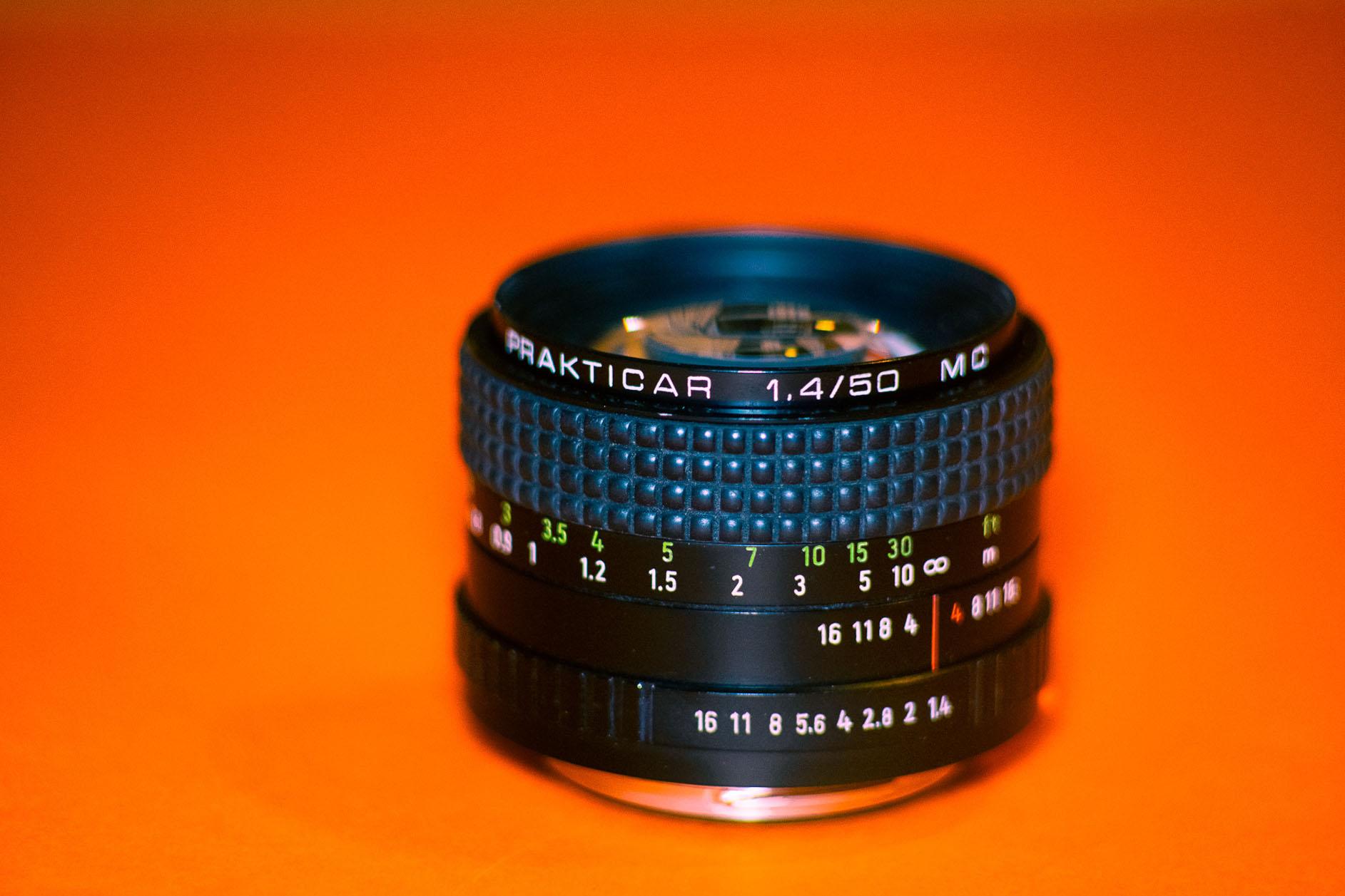 Carl Zeiss Jena Prakticar 50mm f1.4