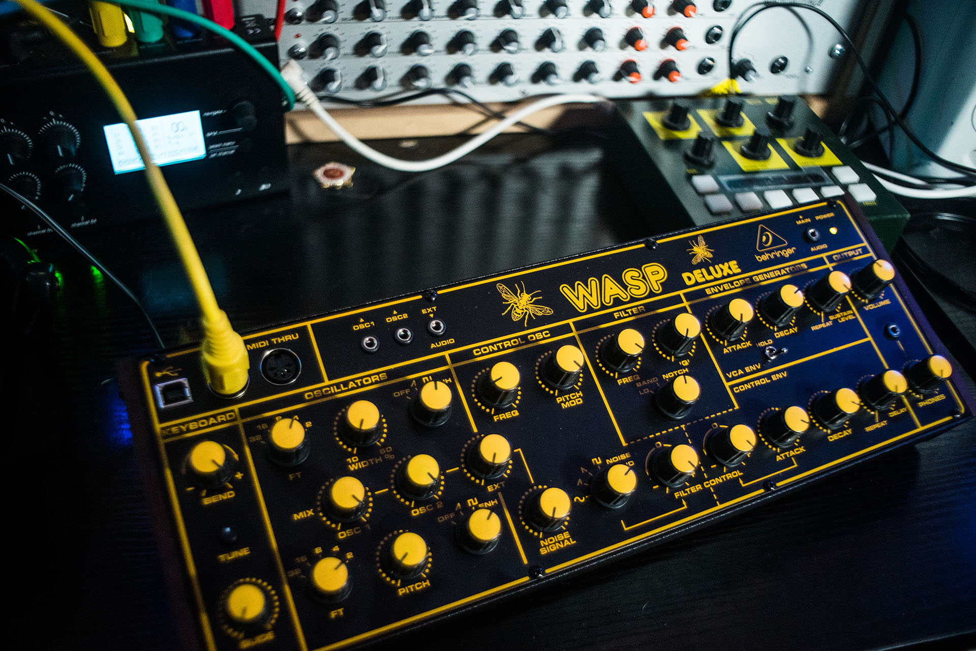 WASP Deluxe synth