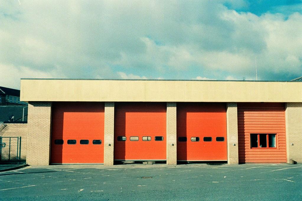 Glasgow fire station on film