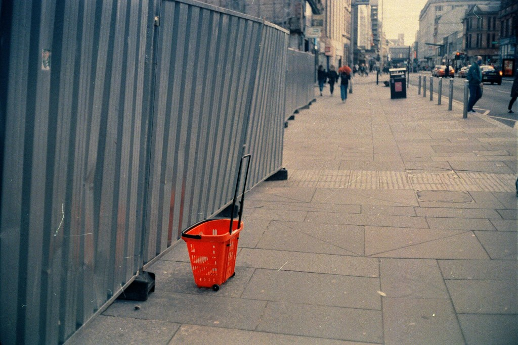 Glasgow street photography film