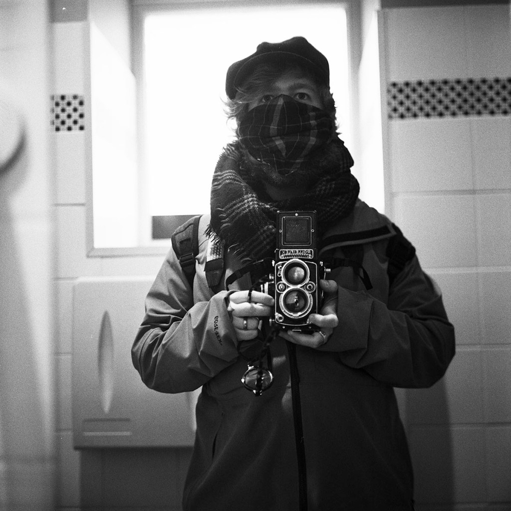 Self portrait Rolleiflex
